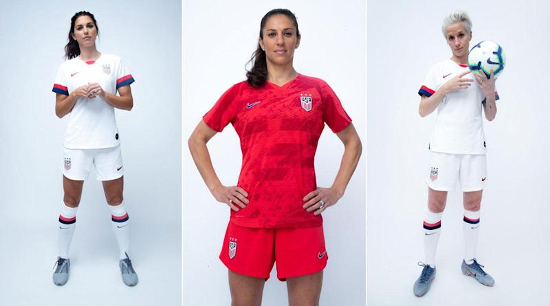 6eadd85b4 PHOTOS  USWNT s 2019 Women s World Cup Kits Revealed
