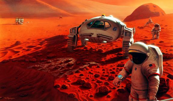 Manned Missions to Mars: Is the Moon Really a Stepping Stone?