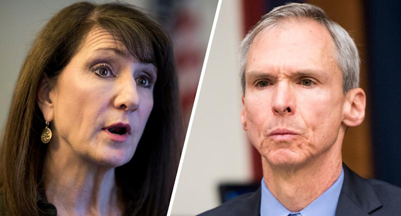 Marie Newman and Dan Lipinski