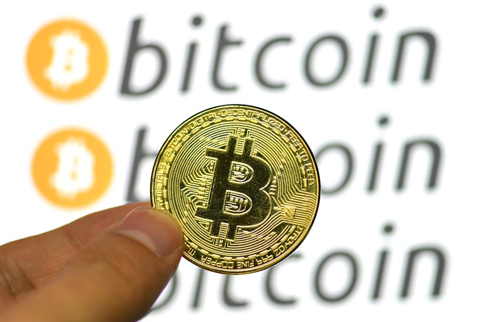 Bitcoin has fluctuated all this week, sinking as low as $32k on Wednesday. Photo: Sheldon Cooper/SOPA Images/LightRocket via Getty