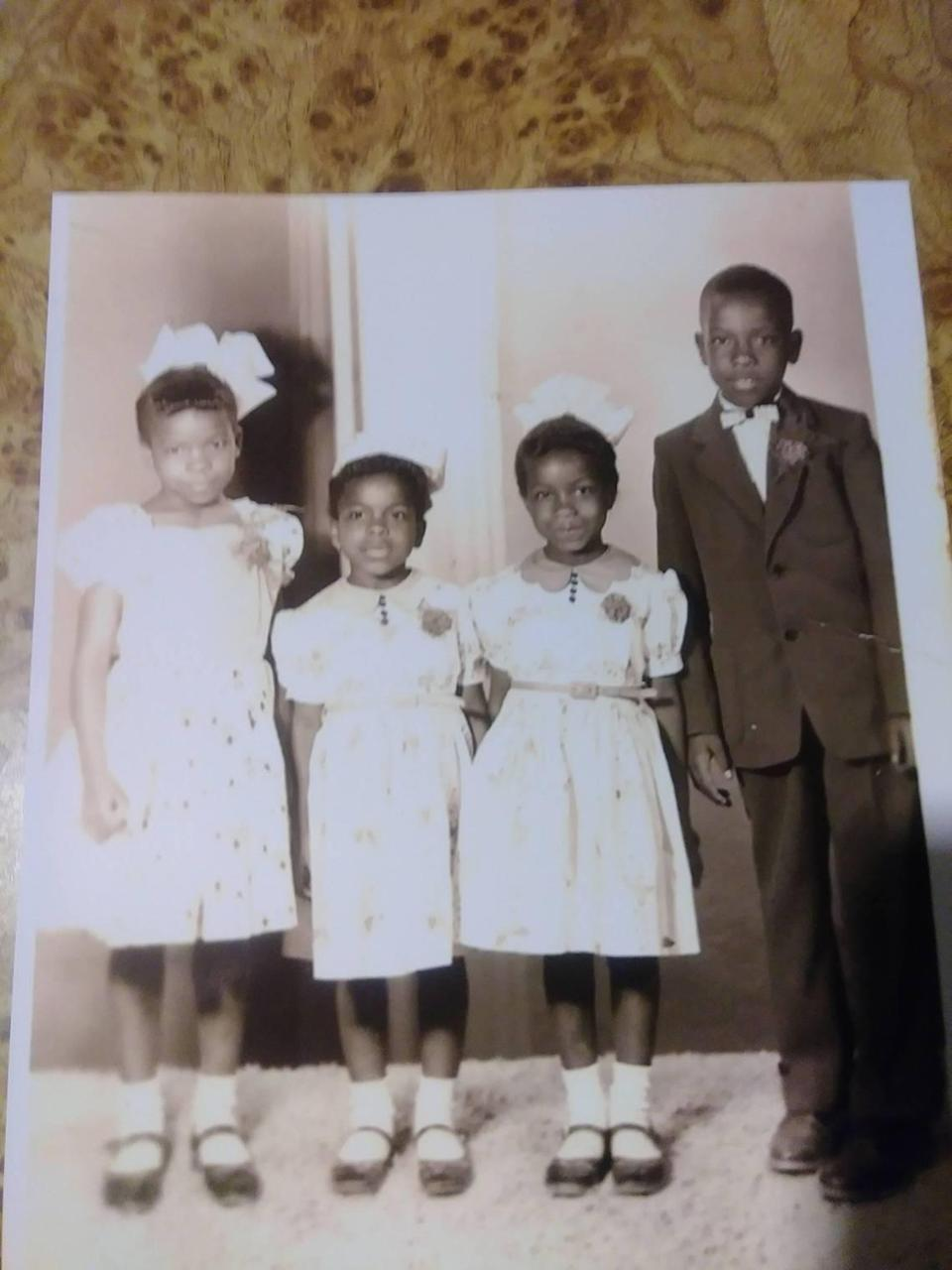 The Smith family, our neighbors during our growing-up years.