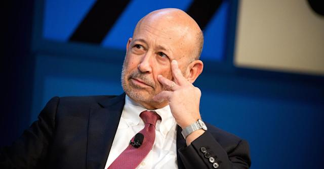 Goldman Sachs CEO Lloyd Blankfein. Michael Nagle | Bloomberg | Getty Images.