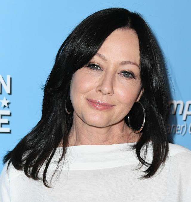Actress Shannen Doherty, who has stage IV cancer, is urging people to stay home to prevent spreading coronavirus. (Photo: Jon Kopaloff/Getty Images)