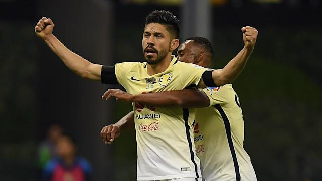 Oribe Peralta William Da Silva Club America Liga MX Liguilla 12042016