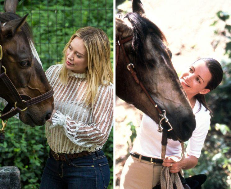 Kelsey (Hilary Duff) and Charlotte (Kristin Davis). (Photos: Getty Images, Alamy/HBO)