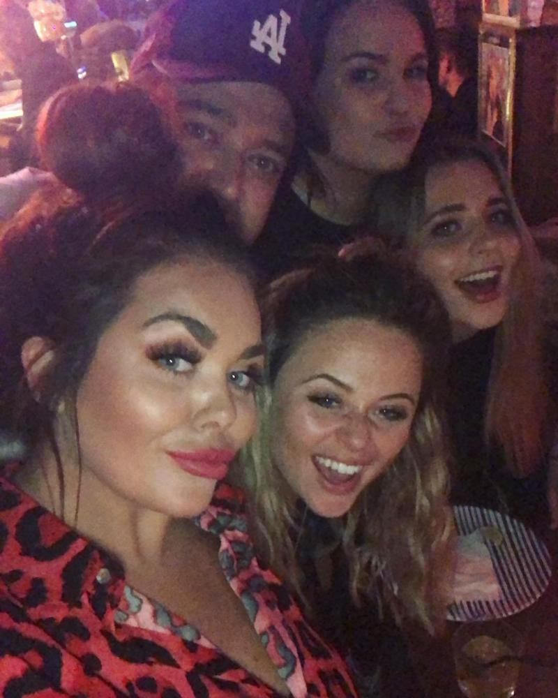 29: Atack celebrated her birthday earlier this week surrounded by friends (scarlettmoffatt/Instagram)