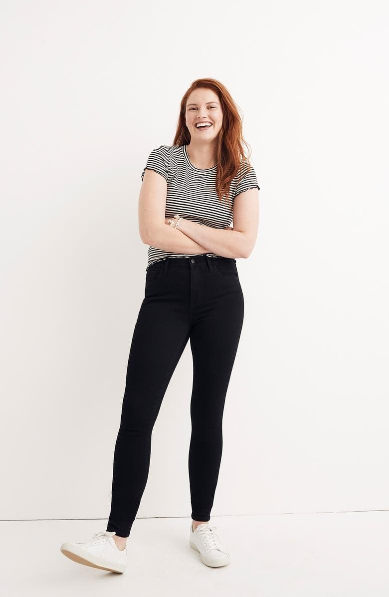 <p>These flattering <span>Madewell Roadtripper Skinny Jeans</span> ($75) are a fan favorite.</p>