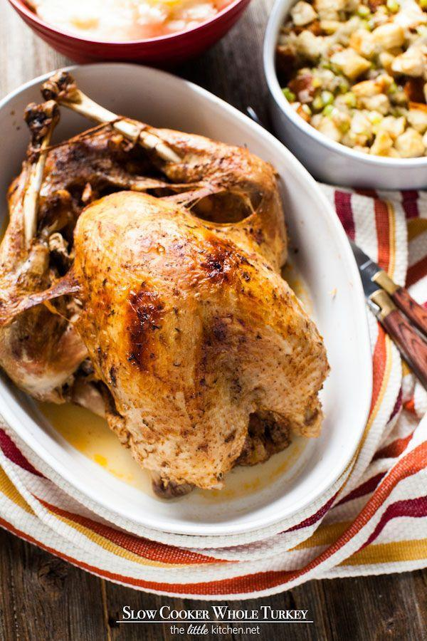"""<p>Move over, oven! This slow cooker turkey recipe might change the way you cook your bird forever.</p><p><strong>Get the recipe at <a href=""""https://www.thelittlekitchen.net/slow-cooker-whole-turkey/"""" rel=""""nofollow noopener"""" target=""""_blank"""" data-ylk=""""slk:The Little Kitchen"""" class=""""link rapid-noclick-resp"""">The Little Kitchen</a>.</strong> </p>"""