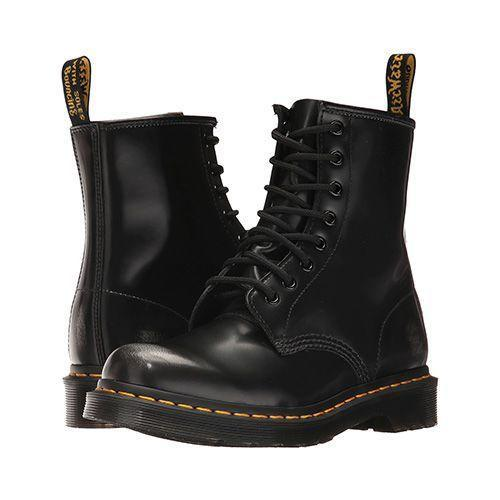 """<p><strong>Dr. Martens</strong></p><p>amazon.com</p><p><strong>$150.00</strong></p><p><a href=""""https://www.amazon.com/dp/B000NXYYIS?tag=syn-yahoo-20&ascsubtag=%5Bartid%7C2089.g.3023%5Bsrc%7Cyahoo-us"""" rel=""""nofollow noopener"""" target=""""_blank"""" data-ylk=""""slk:Shop Now"""" class=""""link rapid-noclick-resp"""">Shop Now</a></p><p>If you don't already own a pair of black boots to wear with your costume, you might as well invest in a good pair now. These Doc Martens are a smart pick — both for your Halloween costume and for years after. </p>"""
