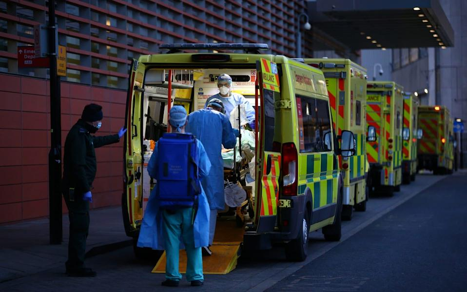 Experts warned that many of the 'missing' patients would be those who were never referred for checks by their GP or kept away for fear of adding to the Covid pressures on the NHS - Getty Images Europe/Hollie Adams