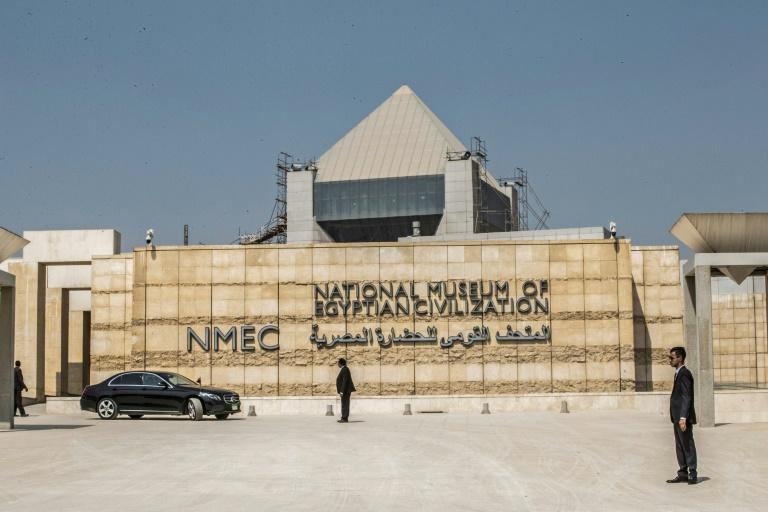The National Museum of Egyptian Civilization in Cairo, the new resting place for the 22 mummies