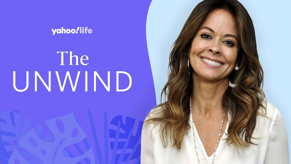 Brooke Burke talks how she prioritizes herself on her to-do list and maintains her age-less beauty. (Photo: Getty Images; designed by Quinn Lemmers)