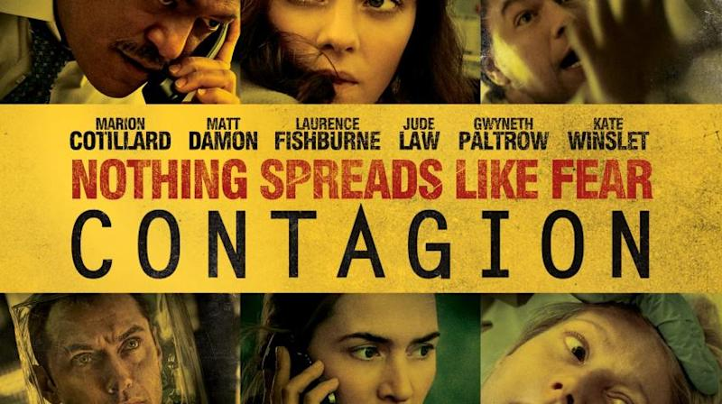 Image result for contagion movie poster
