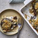 "<p>Earthy portobellos are roasted then smothered in cheese in this easy low-carb side dish. Enjoy this gratin alongside pork or steak, or add a salad and turn it into a delicious vegetarian dinner. <a href=""http://www.eatingwell.com/recipe/278380/cheesy-mushroom-gratin/"" rel=""nofollow noopener"" target=""_blank"" data-ylk=""slk:View recipe"" class=""link rapid-noclick-resp""> View recipe </a></p>"
