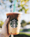 """<p>There's something nostalgic about the caramel macchiato, no? About three Delish editors' eyes glazed over when I mentioned the drink: """"I grew up on that stuff."""" It's just so good! It always has been!</p>"""