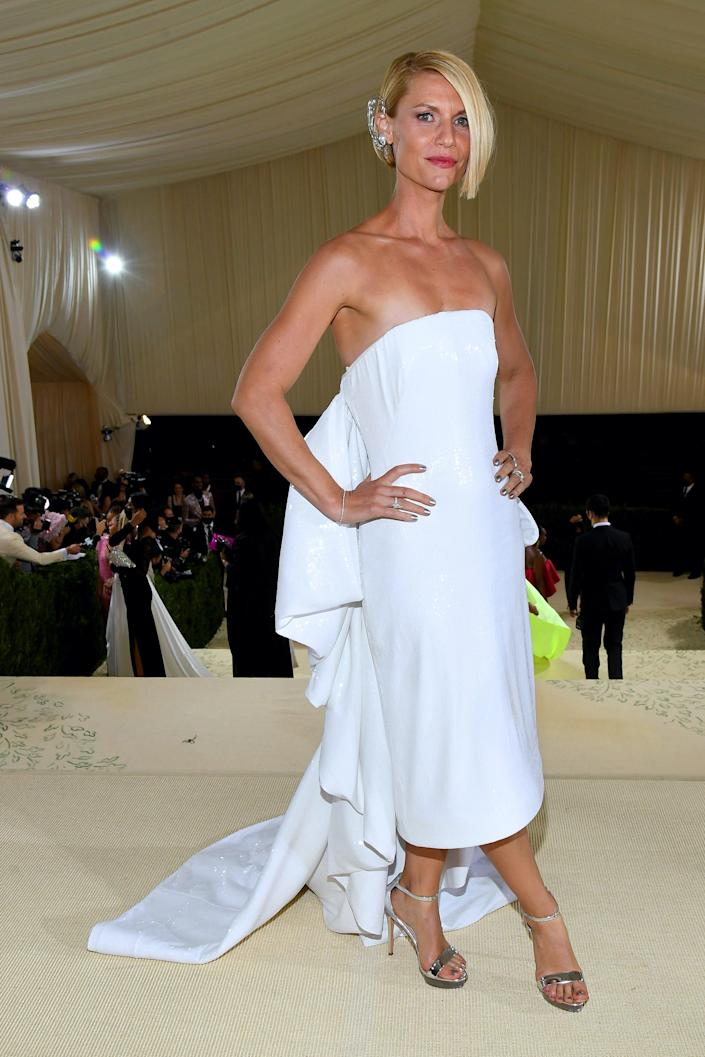 Claire Danes at the 2021 Met Gala.