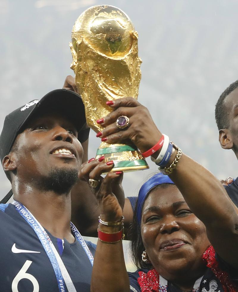 Paul Pogba's mother lands ambassadorial role with Guinea FA