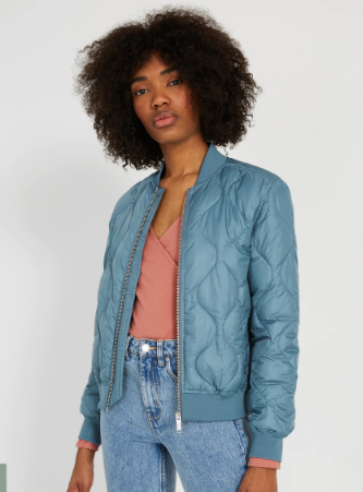 The Edie Water Repellent Bomber
