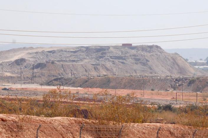 FILE PHOTO: A copper and cobalt mine run by Sicomines is seen in Kolwezi