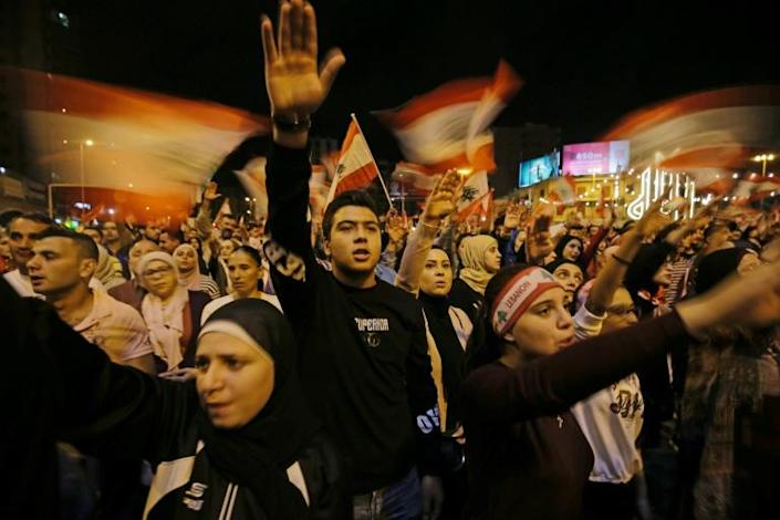 Another Middle Eastern country has erupted in anger at systemic corruption: Lebanon (AFP Photo/Ibrahim CHALHOUB)