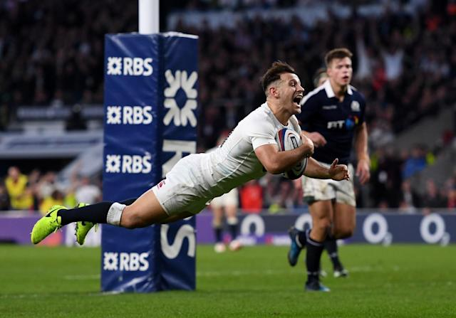 England enter the Six Nations finale off the back of a resounding 61-21 rout of Scotland (Getty)