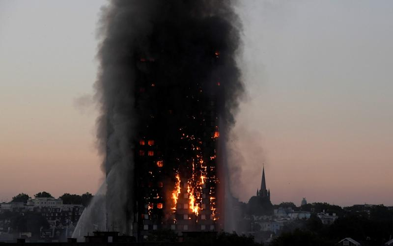 The Grenfell Tower fire killed 72 people - Toby Melville/Reuters