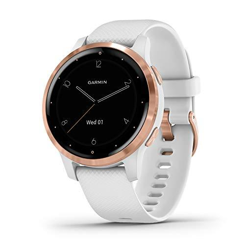 """<p><strong>Garmin</strong></p><p>amazon.com</p><p><strong>$299.99</strong></p><p><a href=""""https://www.amazon.com/dp/B07W6RX2C3?tag=syn-yahoo-20&ascsubtag=%5Bartid%7C2140.g.27194744%5Bsrc%7Cyahoo-us"""" target=""""_blank"""">Shop Now</a></p><p>Waterproof at depths of up to 165 feet, this fitness tracker comes with a lot of crush-worthy new features: on-screen workout demos, stress monitoring, and the ability to download music to your watch.</p>"""
