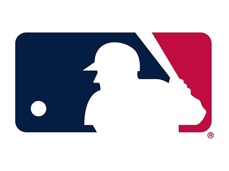 The logo for Major League Baseball