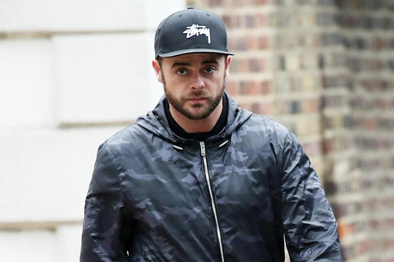 Back in rehab: Ant McPartlin has stepped down from TV commitments (Splash News)