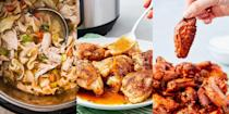 """<p>We're all about making cooking as easy (and fun) as possible, which is why we're big Instant Pot fans. These things can make everything from <a href=""""https://www.delish.com/uk/cooking/recipes/a30252267/instant-pot-chicken-soup/"""" rel=""""nofollow noopener"""" target=""""_blank"""" data-ylk=""""slk:Instant Pot Chicken Noodle Soup"""" class=""""link rapid-noclick-resp"""">Instant Pot Chicken Noodle Soup</a> to <a href=""""https://www.delish.com/uk/cooking/recipes/a30244017/instant-pot-chicken-thighs-recipe/"""" rel=""""nofollow noopener"""" target=""""_blank"""" data-ylk=""""slk:Instant Pot Chicken Thighs"""" class=""""link rapid-noclick-resp"""">Instant Pot Chicken Thighs</a> to <a href=""""https://www.delish.com/uk/cooking/recipes/a29983380/instant-pot-butter-chicken-recipe/"""" rel=""""nofollow noopener"""" target=""""_blank"""" data-ylk=""""slk:Instant Pot Butter Chicken"""" class=""""link rapid-noclick-resp"""">Instant Pot Butter Chicken</a>. And we can't help but want to find out what other insanely-delicious recipes can be cooked up in one of these state-of-the-art kitchen gadgets (hint: we've got lots of recipes). </p><p>Interested in a whole range of <a href=""""https://www.delish.com/uk/cooking/recipes/g35117026/instant-pot-recipes/"""" rel=""""nofollow noopener"""" target=""""_blank"""" data-ylk=""""slk:Instant Pot"""" class=""""link rapid-noclick-resp"""">Instant Pot</a> recipes? We've got TONS. </p>"""