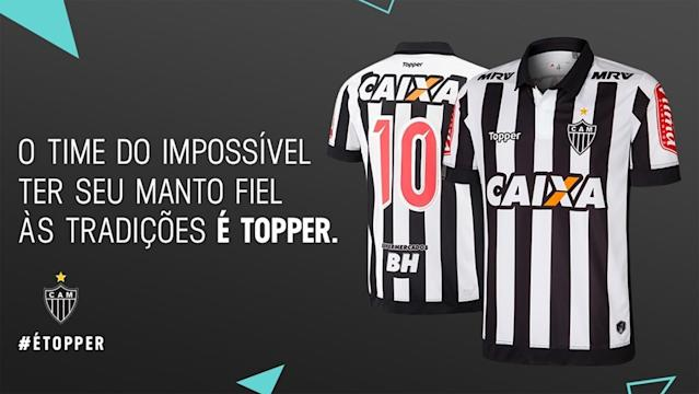 Atletico-MG Novo Uniforme 2017