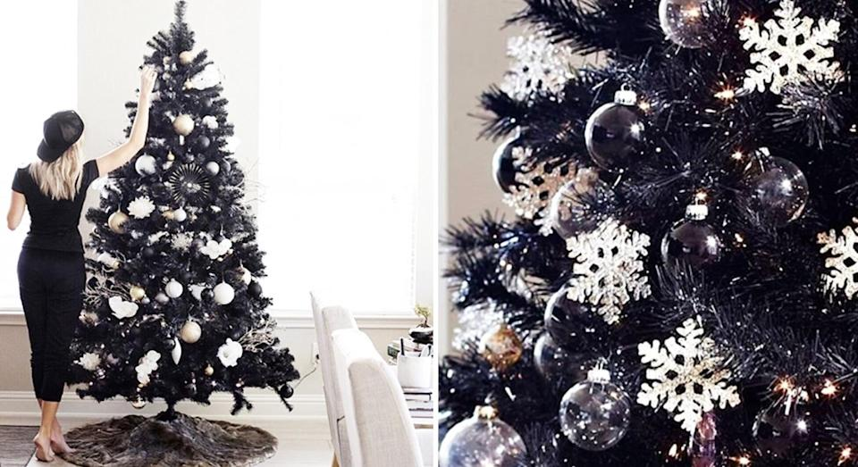 Black Christmas Trees Have Landed And