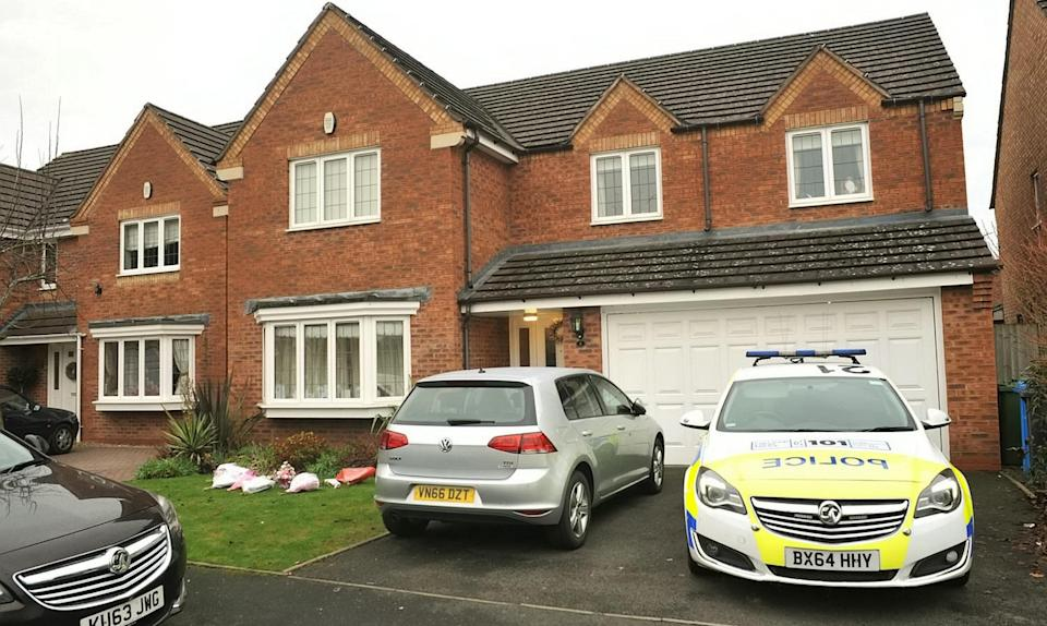 The home of John Broadhurst where Natalie Connolly was found dead in December 2016, in Kenrose Mill, Kinver, near Stourbridge.
