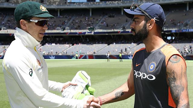 Tim Paine cheekily suggested Australia will have to see if Virat Kohli gives them permission to play India at the Gabba next year.