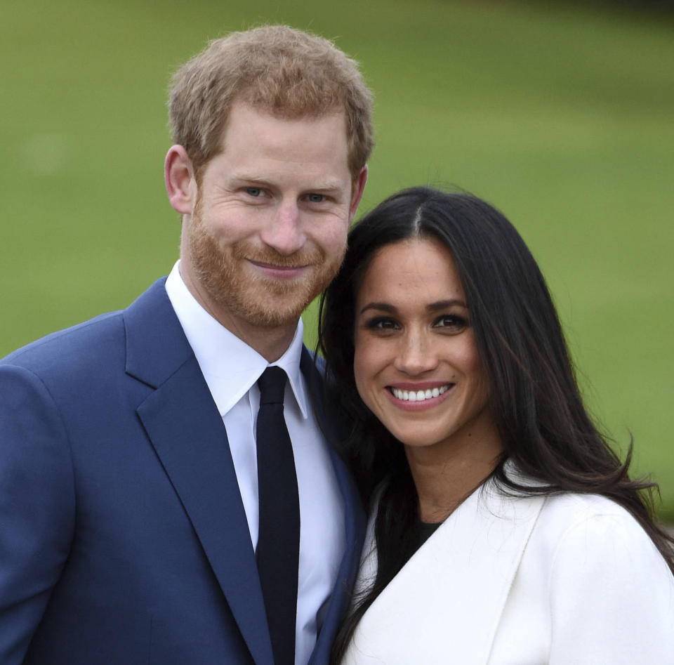Harry and Meghan stepped down as fulltime members of the royal family last year. (PA)