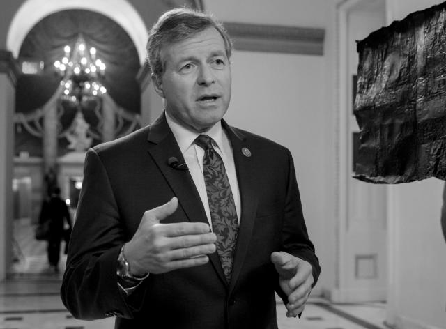 Rep. Charlie Dent, R-Pa., speaks on Capitol Hill in Washington. Dent, leader of an influential caucus of GOP moderates in the House, announced on March 23, 2017, that he will not seek reelection to an eighth House term next year. (Photo: J. Scott Applewhite/AP)