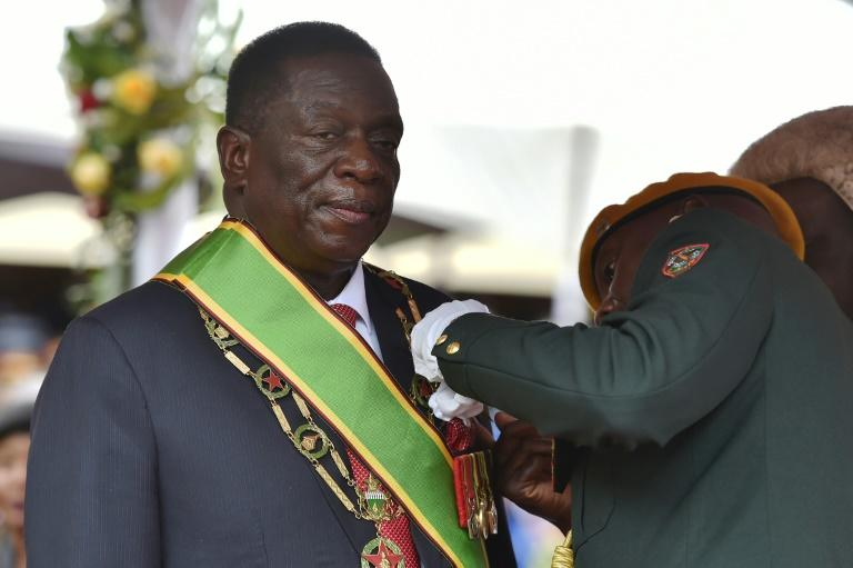 Zimbabwe's new interim President Emmerson Mnangagwa says huge sums of money and other assets have been taken out of the country