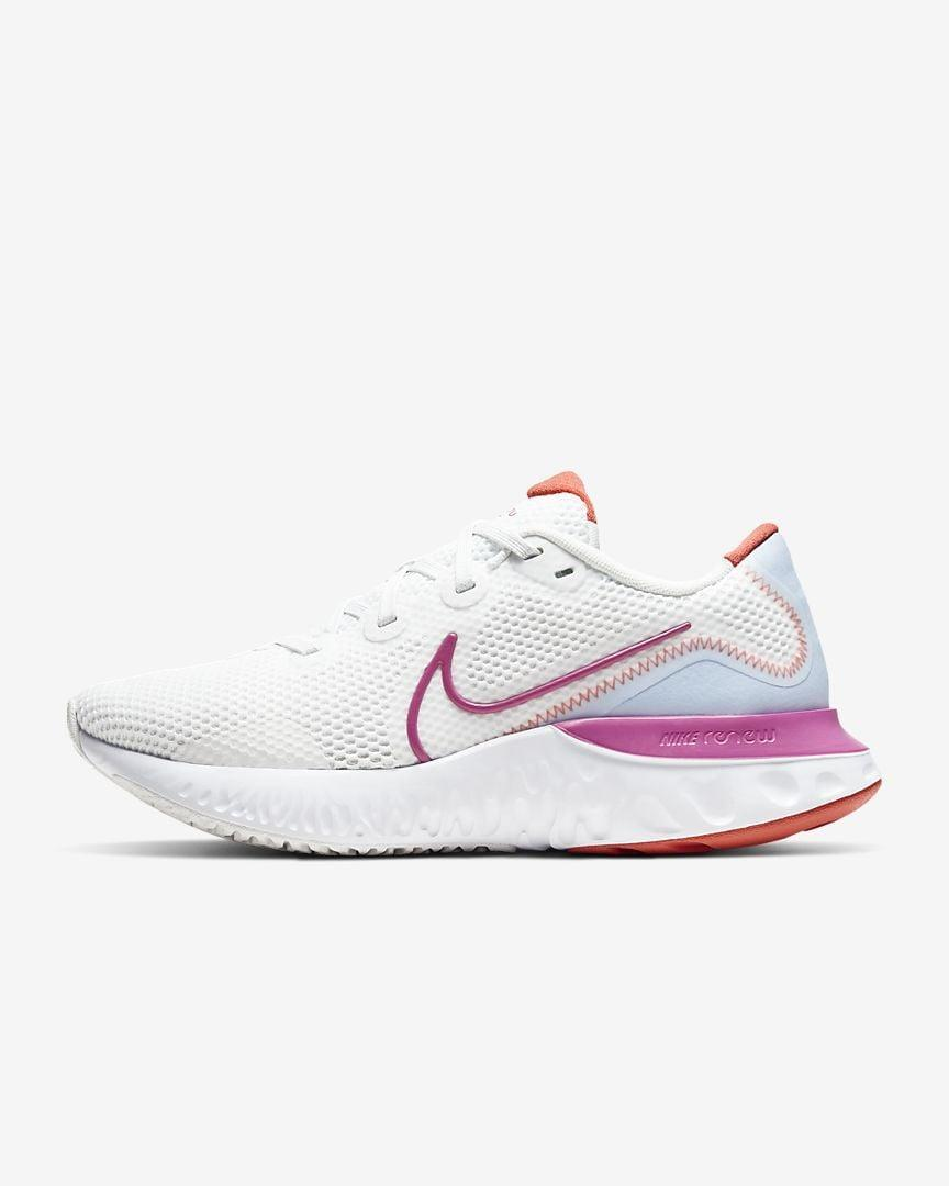 "<p>These <a href=""https://www.popsugar.com/buy/Nike-Renew-Run-564885?p_name=Nike%20Renew%20Run&retailer=nike.com&pid=564885&price=90&evar1=fit%3Aus&evar9=45192674&evar98=https%3A%2F%2Fwww.popsugar.com%2Ffitness%2Fphoto-gallery%2F45192674%2Fimage%2F47420175%2FNike-Renew-Run&list1=shopping%2Cshoes%2Csneakers%2Cnike%2Cadidas%2Crunning%20shoes%2Cworkouts%2Capl%2Cfitness%20shopping&prop13=api&pdata=1"" class=""link rapid-noclick-resp"" rel=""nofollow noopener"" target=""_blank"" data-ylk=""slk:Nike Renew Run"">Nike Renew Run</a> ($90) sneakers are an awesome, affordable shoe. They come in a bunch of colors.</p>"