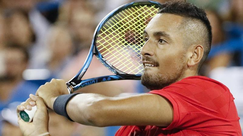 Nick Kyrgios has beaten David Ferrer to reach the final of the Cincinnati Masters