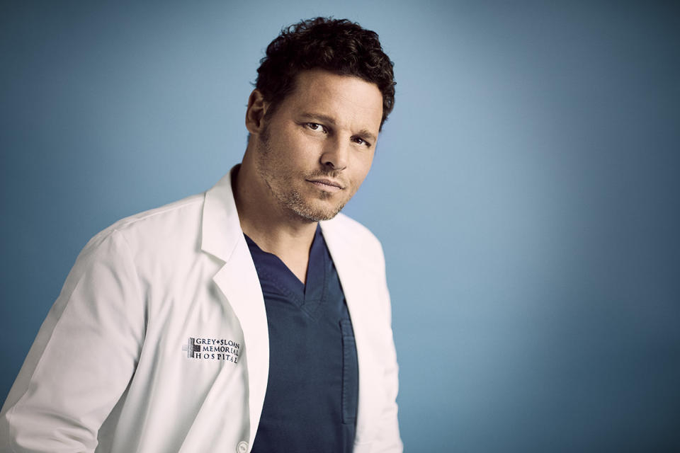 "GREY'S ANATOMY - ABC's ""Grey's Anatomy"" stars Justin Chambers as Alex Karev. (Mike Rosenthal/ABC via Getty Images)"
