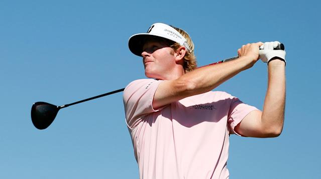 ATLANTA, GA - SEPTEMBER 23: Brandt Snedeker watches his tee shot on the seventh hole during the final round of the TOUR Championship by Coca-Cola at East Lake Golf Club on September 23, 2012 in Atlanta, Georgia. (Photo by Kevin C. Cox/Getty Images)