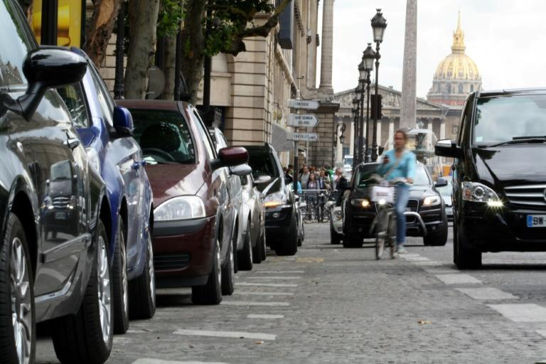 Too many cars? Some think it is time for Paris to ban them entirely from the city centre (AFP Photo/ANA AREVALO)