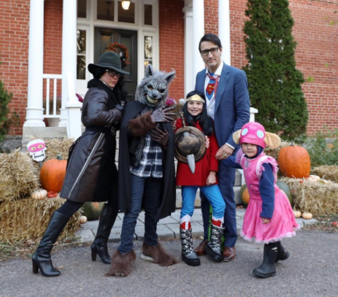 The Trudeau family absolutely nailed Halloween. Photo: Instagram