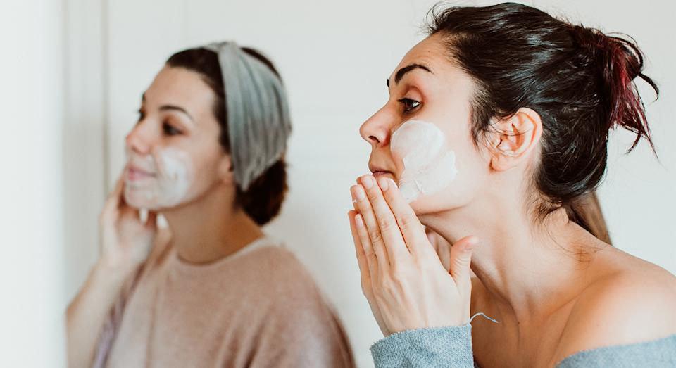 Clarins' Double Serum is the top-selling moisturiser shoppers can't get enough of.  (Getty Images)