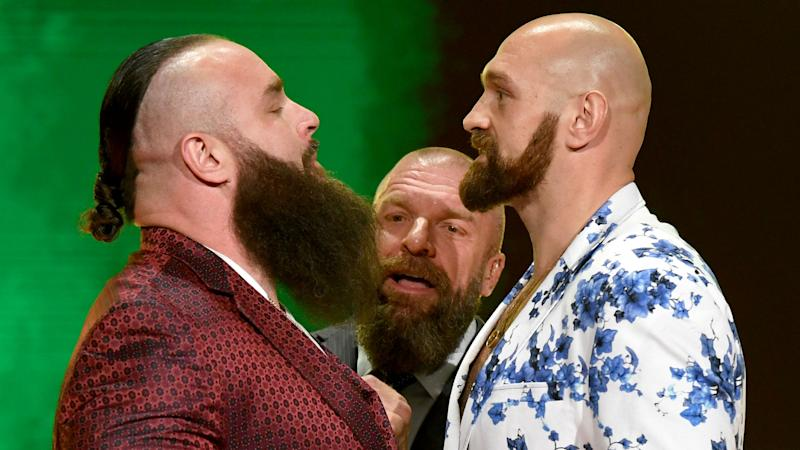 Triple H talks about Tyson Fury