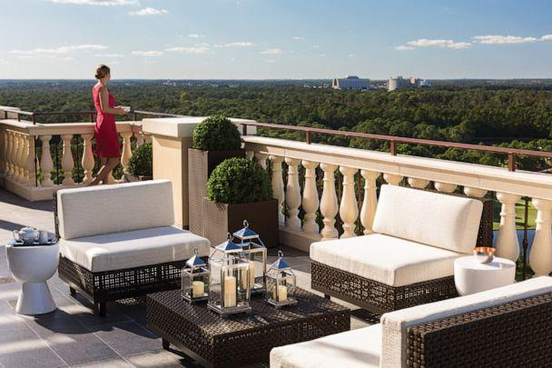 PHOTO: Terrace in the Royal Suite at Four Seasons Resort Orlando at Walt Disney World (Four Seasons Resort Orlando at Walt Disney World)