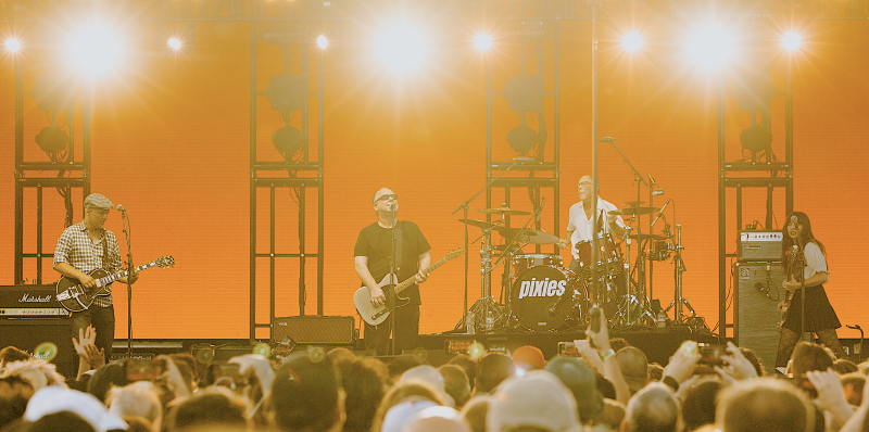 The Pixies at the Cure's Pasadena Daydream festival. (Photo: Courtesy of Pasadena Daydream & Goldenvoice)