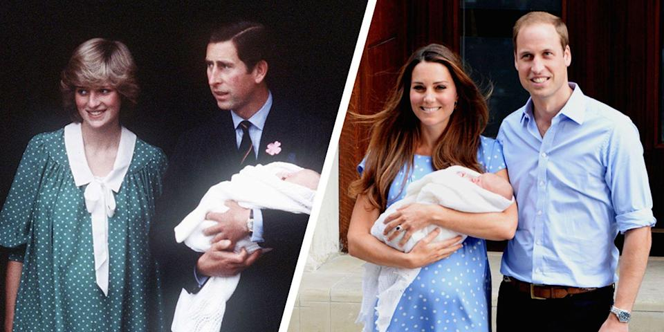 <p>They usually have six (!) godparents. </p>