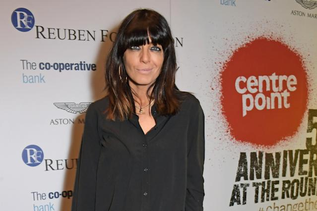 Claudia Winkleman's panda eyes are her sinature look (Credit: Getty Images for Centrepoint)