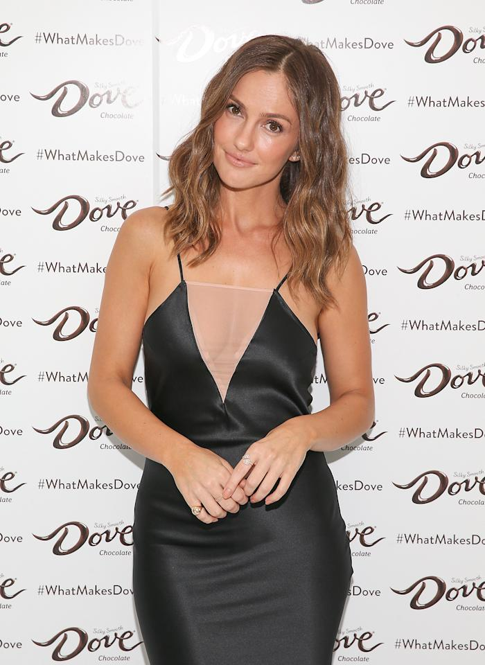 <p>Minka Kelly rocks a sleek LBD for the Dove Chocolate Journey series screening on Wednesday in N.Y.C.</p>